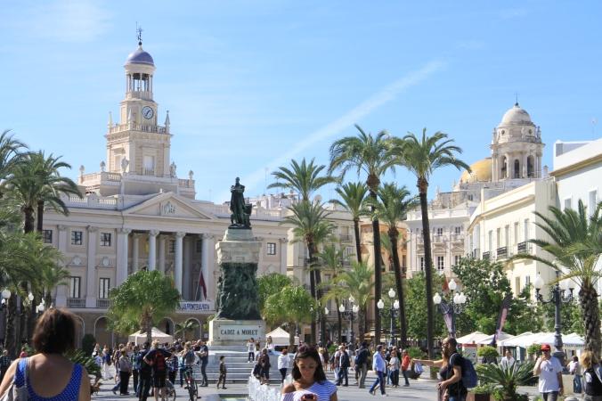 Beautiful Cádiz Town Centre