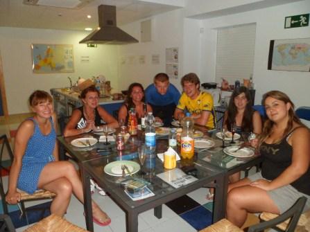 Spanish speaking environment in residence